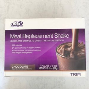 Advocare Meal Replacement Shake Chocolate